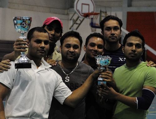 Indoor League Final & Exhibition